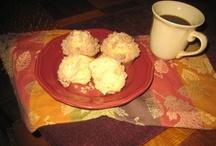 Breakfast Food Muffins & Popovers