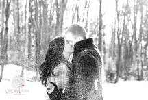 Inspiration: Engagement Session Snow Portraits