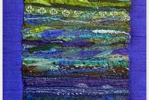 Sari silk embroidered