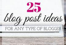 Blog: ideas