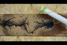 Spalanie drewna