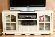 Tv stands / by Kylee Harward
