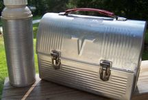 Vintage Lunch Boxes / Get ready for back to school with these great vintage lunch boxes! / by B.Nute productions