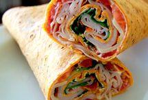 Food - Bundles, Pinwheels & Sandwiches / by Ilene Irvin