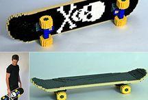 Lego Skateboard- skateboard toys / #skatertrainer board for #Lego #skateboard toys and other fun!