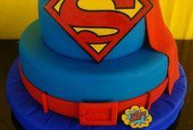 Fondant Cakes - Super heroes