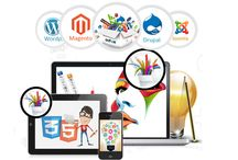 Website Designing and Development / Search Rank India is offering creative website designing and secure functional or custom website development service anywhere in any country.