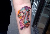 Dragon Tattoos / Dragon tattoos are extremely famous nowadays among tattoo lovers in the entire world, and you are aware of that for sure...