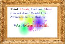 #art4MentalHealth / Join the conversation about mental health advocacy  #art4MentalHealth by snapping a photo with your phone, creating a doodle, collage pictures, or paint a landscape! All mediums are welcome!