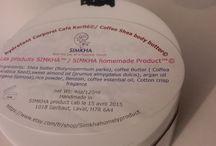 SIMKHA homemade coffee butter lotion