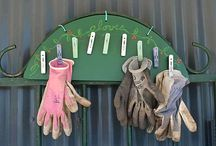 Garden shed organizing / by Lisa Schmidt