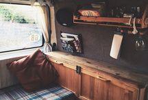 Лагерь фургонов