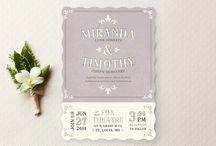 Invitations / by Michelle Di Lena