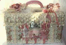 beauty case shabby porta gioie