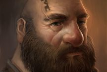 Portraits / fantasy portraits characters etc