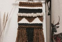 Love the loom ❤️ / Lovely loom weaving