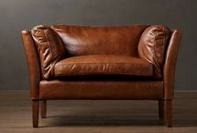 Leather Sofa / Vintage handcrafted leather sofas by @shakuntimpex