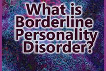 Borderline Personality Disorder / by HealthyPlace.com Mental Health Website