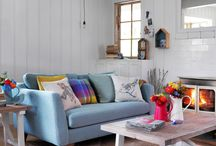 Dickins & Jones Home - Modern country style /  A quintessentially British, country inspired collection, Dickins & Jones Home has been designed to create an eclectic mix of heritage prints and modern design in a fresh, vibrant colour palette.