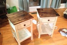 bedside tables / by Ali H