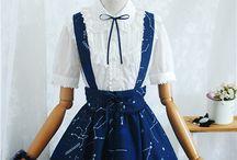 Lolita dresses and skirts / Lolita dresses and skirts, japanese style inspired.