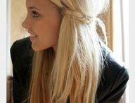 her hair! ;)