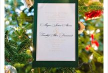 Wedding Stationery / Gorgeous invites, beautiful programs and amazing menus photographed by Corey Ann Photography.