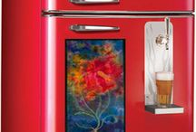 Refrigerator Art / Fabulous work of artists I've put up on the refrigerator on my blog to show them off. / by Ellen Anne Eddy