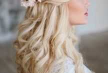 September Bridesmaid Hair