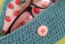 Cute Hand Crochet Glasses Case,