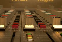 Our love affair with Angela / Photos of our pride and joy Angela, a 1980's 70 Channel AMEK mixing console. She is so beautiful :)