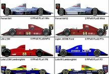 90年代F1マシン