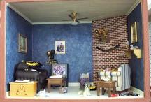 Calendar Girl Miniature Rooms
