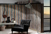 Holzoptik / Wand- und Bodengestaltung in Holzoptik