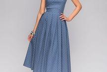 Платье с рельефом