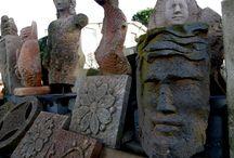 Sculpture workshop IV - Laboratorio di scultura IV / Sculture in pietra - Passeggiata virtuale tra le mie sculture - di Aldo Casti