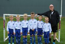 Basingstoke's little footballers / Barracuda sponsored teams in the Eversley & California Football Club. Basingstoke UK