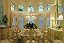 Living, Dining, & Entry Areas / Interior photographs of homes built by Daniel Wayne Homes, custom home builder in Fort Myers, Florida.