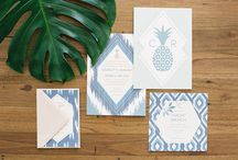 PAPER / wedding invitations / event stationery / decals