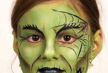 schminken Halloween