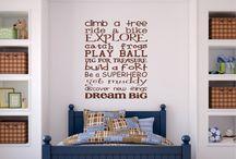 Boys: bedroom