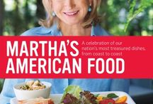 Martha's American Food / From pulled pork to blueberry crisp, this is my tribute to America's distinctive flavors, featuring more than 200 best-loved recipes. / by Martha Stewart