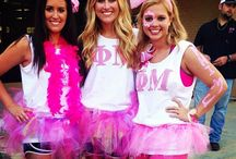 Alpha Delta Pi Birthday Bid Day