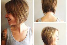 short hair texture