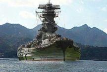 戦艦・飛行機