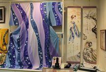染色作家 藤井裕也 / Hiroya Fujii / #kimono   #着物  #絞り #染色家  #きもの  #ファッション