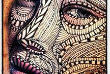 contour faces