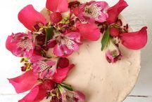 Pink high tea & cake decoration