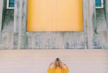 Yellow / An inspirational board focusing on yellow from BDA London.