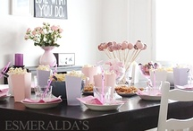 Home deco - tables / table decoration, centerpieces etc.
